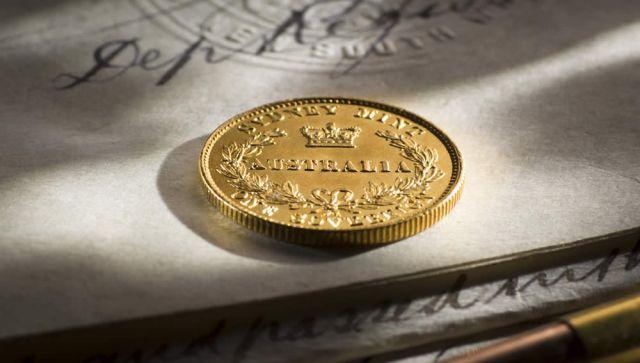 1859 Sydney Mint Sovereign