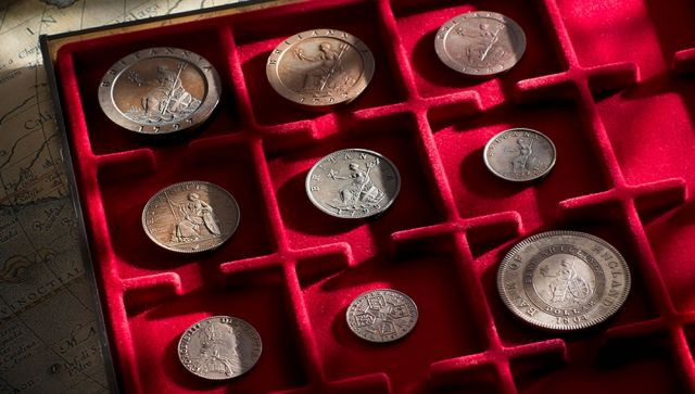 Colonial-Proof-Coin-Collection