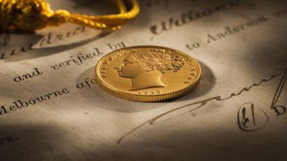 1887 Melbourne Mint Sovereign