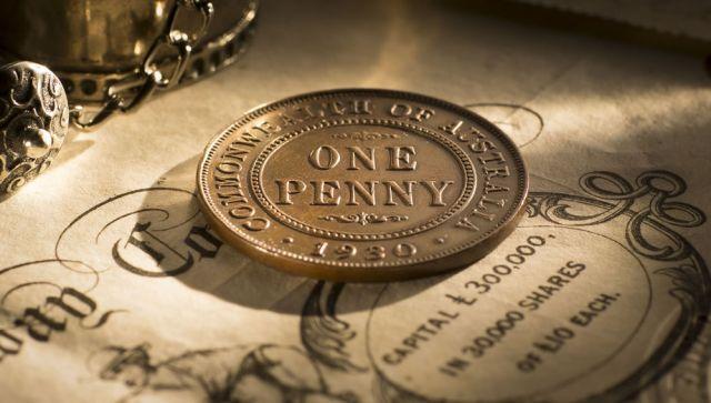 1930 Penny date side