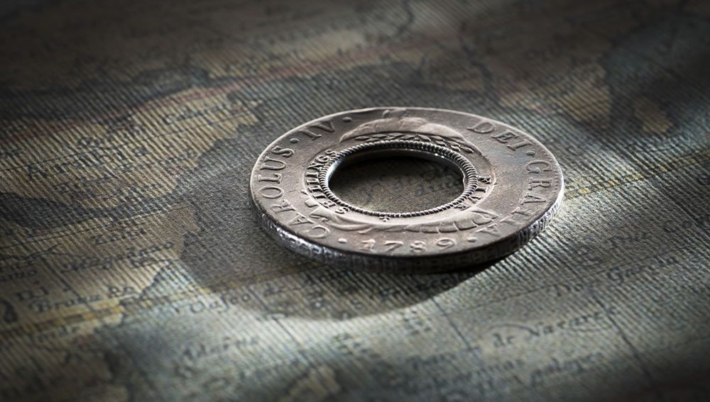 1813 Holey Dollar