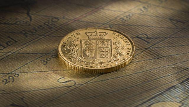 1872-1 Sovereign Melbourne Mint