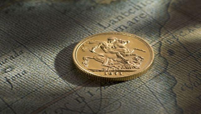 1871 Sovereign Sydney Mint