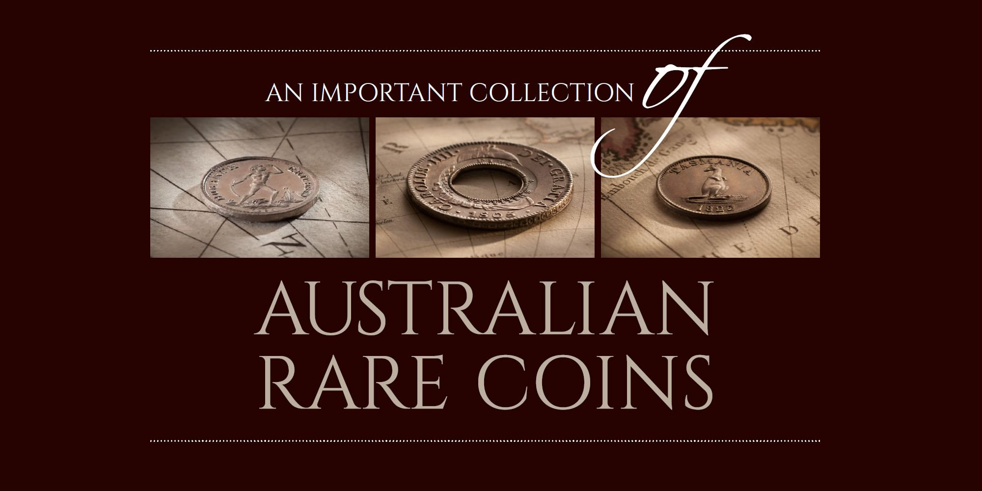 An Important Collection of Australian Rare Coins