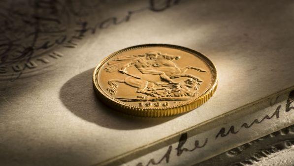 1926 Specimen Sovereign Sydney Mint