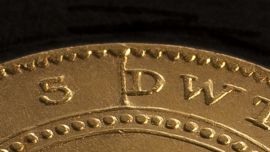 1852 Adelaide Pound Cracked Die