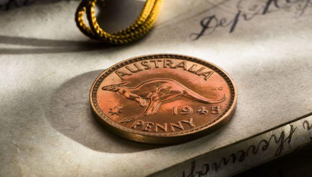 1945 Proof Penny Melbourne Mint