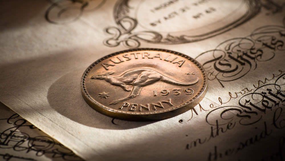 1939 Proof Penny Melbourne Mint