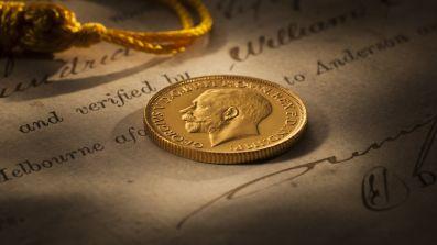 1926 Sydney Mint Sovereign FDC obv