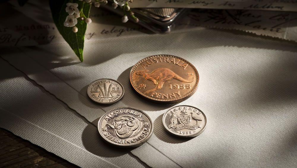 1955 Proof Set Melbourne Mint