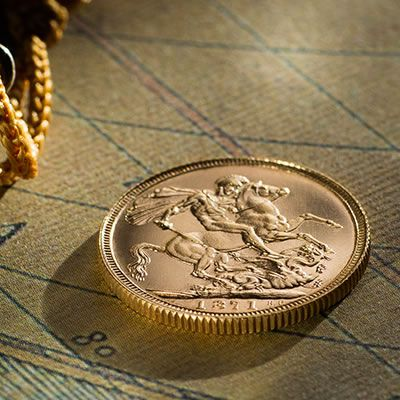 1871 Proof Sovereign