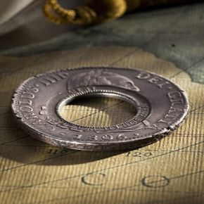 The 1813 Holey Dollar – a double history makes it doubly interesting