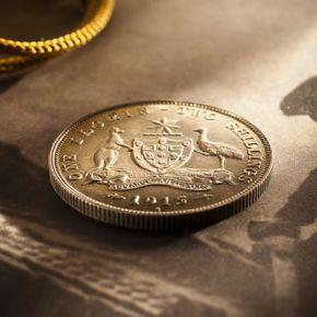 Australian Commonwealth coins 1910 - 1964