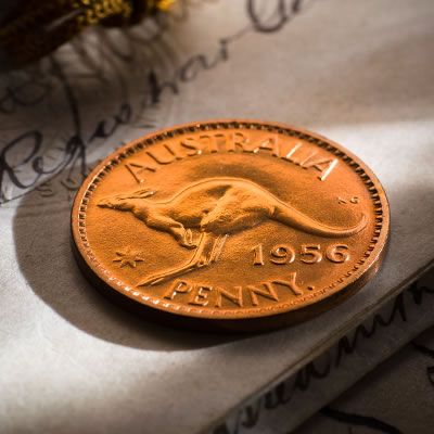 1956 Proof Penny