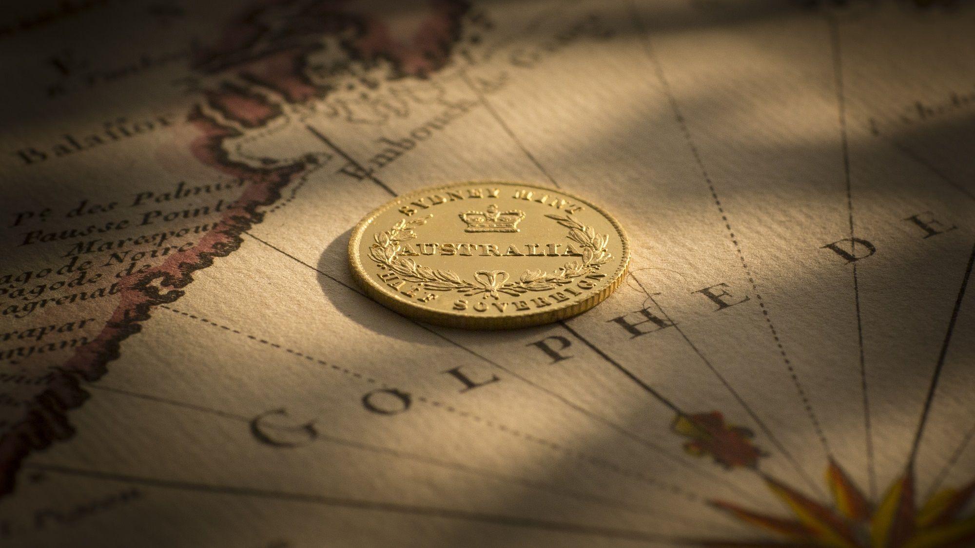 1858 Sydney Mint Half Sovereign nr Unc - Unc rev B&B September 2017