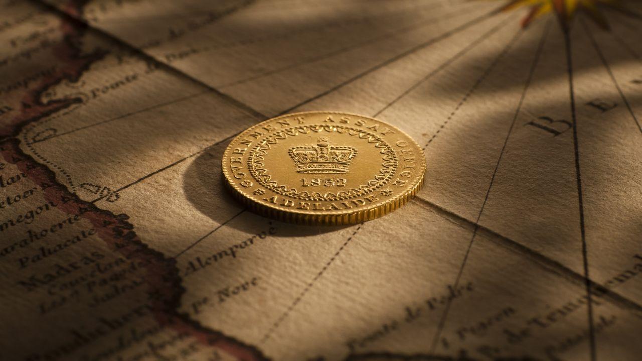 1852 Adelaide Pound EF rev September 2017