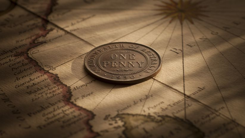 1930 Penny good Fine - about Very Fine rev September 2017