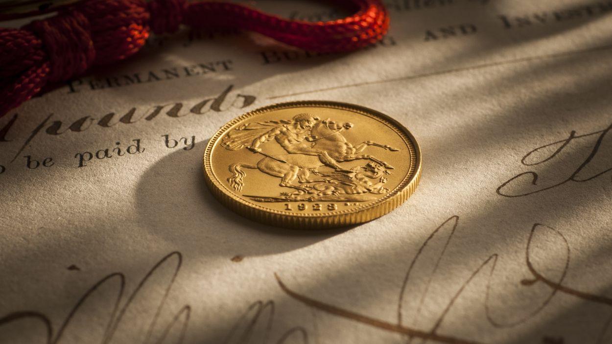 1923 Sydney Mint Specimen Sovereign rev B&B October 2017