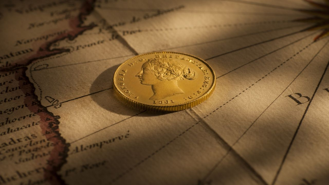 1861 Sydney Mint Sov OBV October B&B