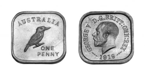 Type 3 Square Penny