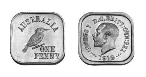 type 4 square penny pair