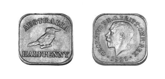 Type 2 Square Halfpenny Pair