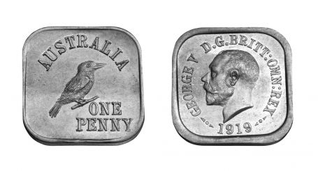 Type 5 Square Penny Pair