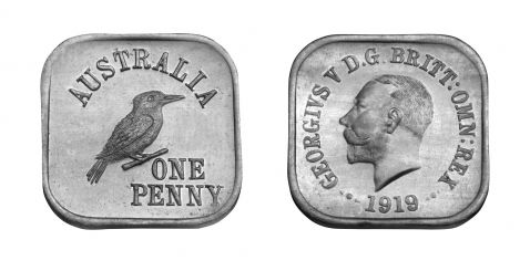 Type 6 Square Penny Pair