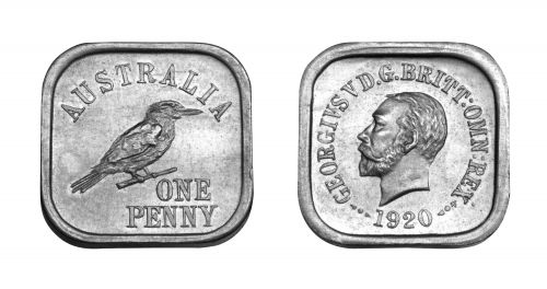 Type 7 Square Penny Pair