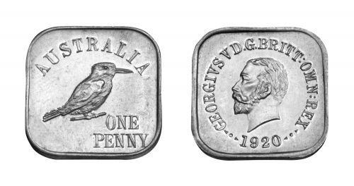 Type 8 Square Penny Pair