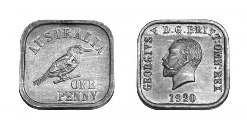 Type 9 Square Penny Pair