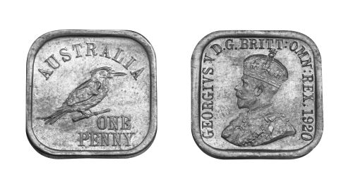 Type 10 Square Penny Pair