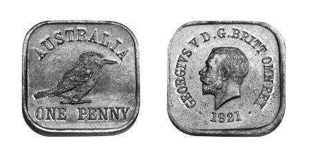 Type 11 Square Penny Pair