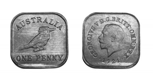 Type 12 Square Penny Pair