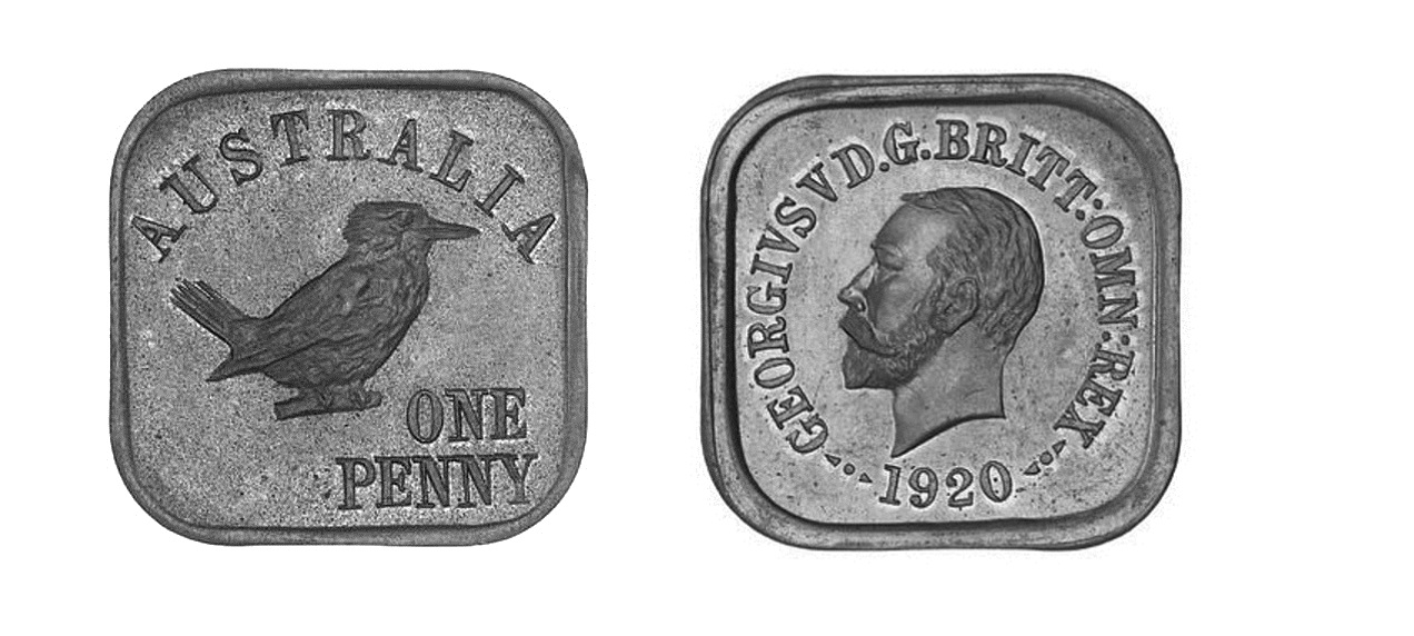 Type 13 Square Penny Pair