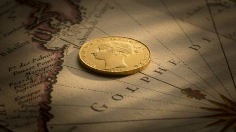 1855 Sydney Mint Sovereign good EF about Unc B&B December 2017