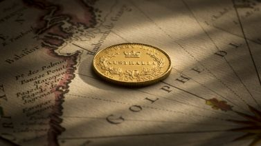 1855 Sydney Mint Sovereign good EF about Unc REV B&B December 2017
