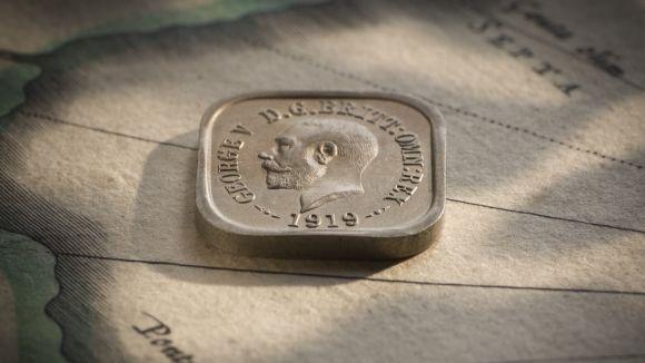 1919 Square Penny Type 5 Obv Slideshow February 2018