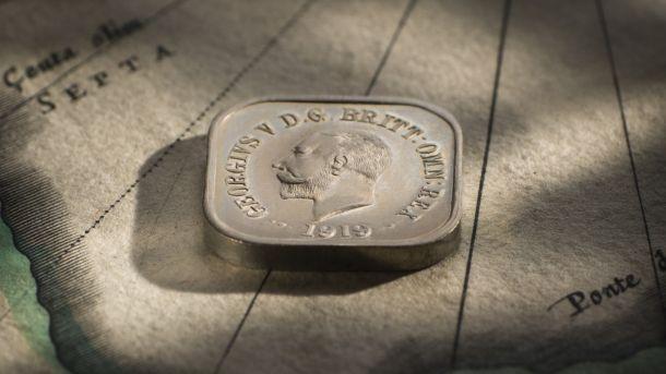 1919 Square Penny Type 6 obv Large Slideshow February 2018