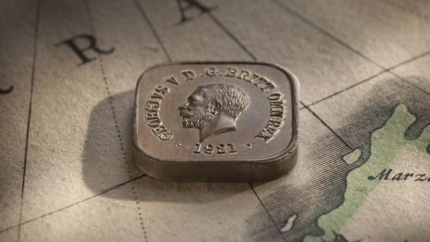 1921 Square Penny Type 11 obv Large Slideshow February 2018