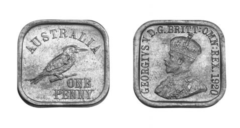 Test Type 10 Square Penny Pair
