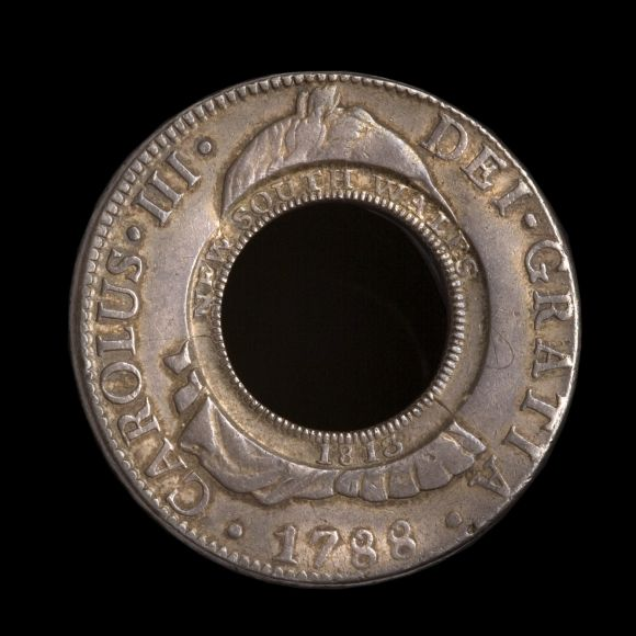 1788 Holey Dollar Obv N&V March 2018