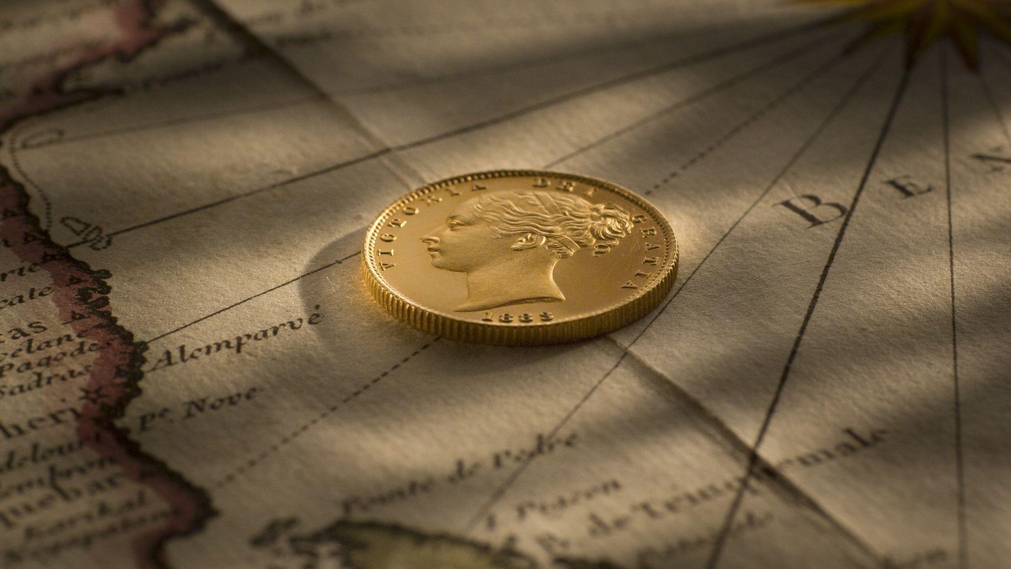 1883S YH Sheild Proof Sovereign obverse Large April 2018