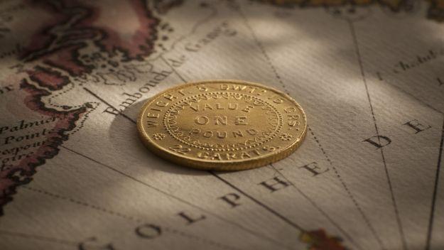 1852 Adelaide Pound about EF obv DL April 2018