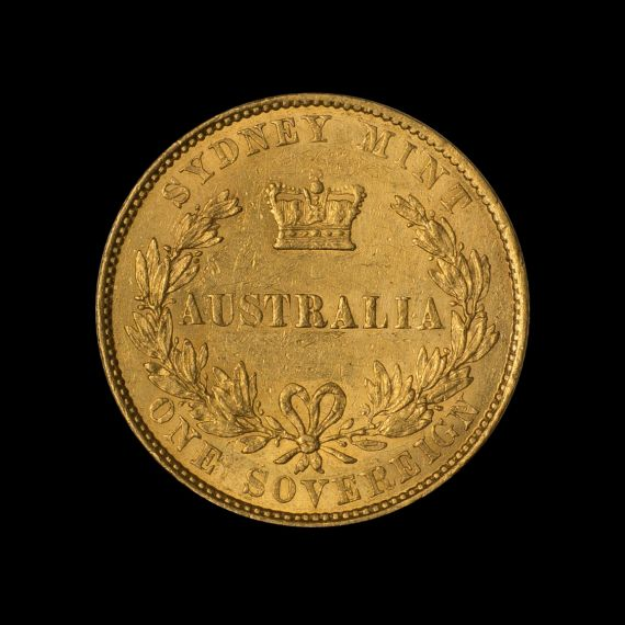 1855 Sydney Mint Sov tech shot rev May 2018