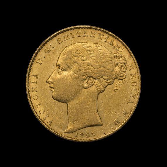 1855 Sydney Mint Sov tech shot obv May 2018
