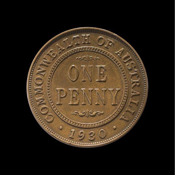 1930 Penny VF rev tech shot May 2018