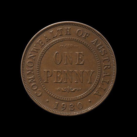 1930 Penny Good Fine rev May 2018