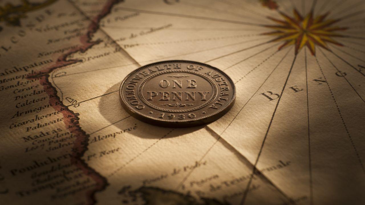 1930 Penny good Fine aVF rev June 2018