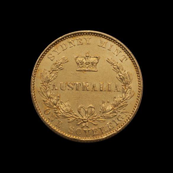 1855 Sydney Mint Sov good EF rev June 2018